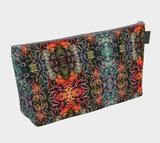 Flowers Overlap Pattern Make-Up Bag