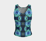 Abstract Ocean Tank Top