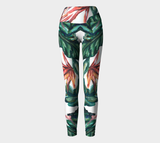 Bird Of Paradise Yoga Pants