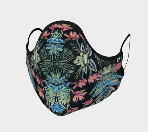 Birds of Paradise 2 Face Mask