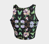 Butterfly and Fern Crop Top