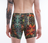 Flowers Overlap Pattern Men's Boxers