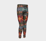 Flowers Overlapping Girls Pants