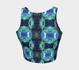 Abstract Ocean Crop Top
