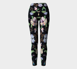 Butterfly and Fern Yoga Pants