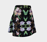 Butterfly and Fern Flare Skirt