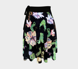 Ferns and Butterflies Wrap Skirt