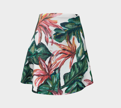 Birds of Paradise Flare Skirt