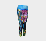Butterfly Elephant Kids Leggings