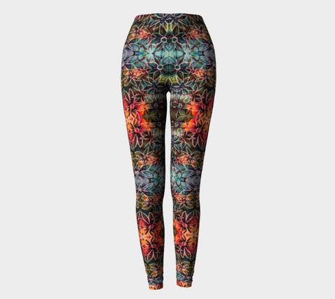 Sale Flowers Overlapping Leggings
