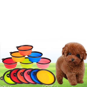 Collapsible Pet Foldable Bowl