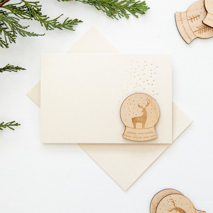 SET OF SNOWY DEER CHRISTMAS CARDS (PPSW-02)-clouds-and-currents