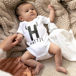 CLEARANCE First Christmas Baby Grow 'Hattie'Clouds and Currents