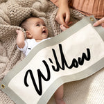 Personalised Nursery Fabric Wall Art Banner