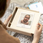 Personalised Photo New Baby Memory Box