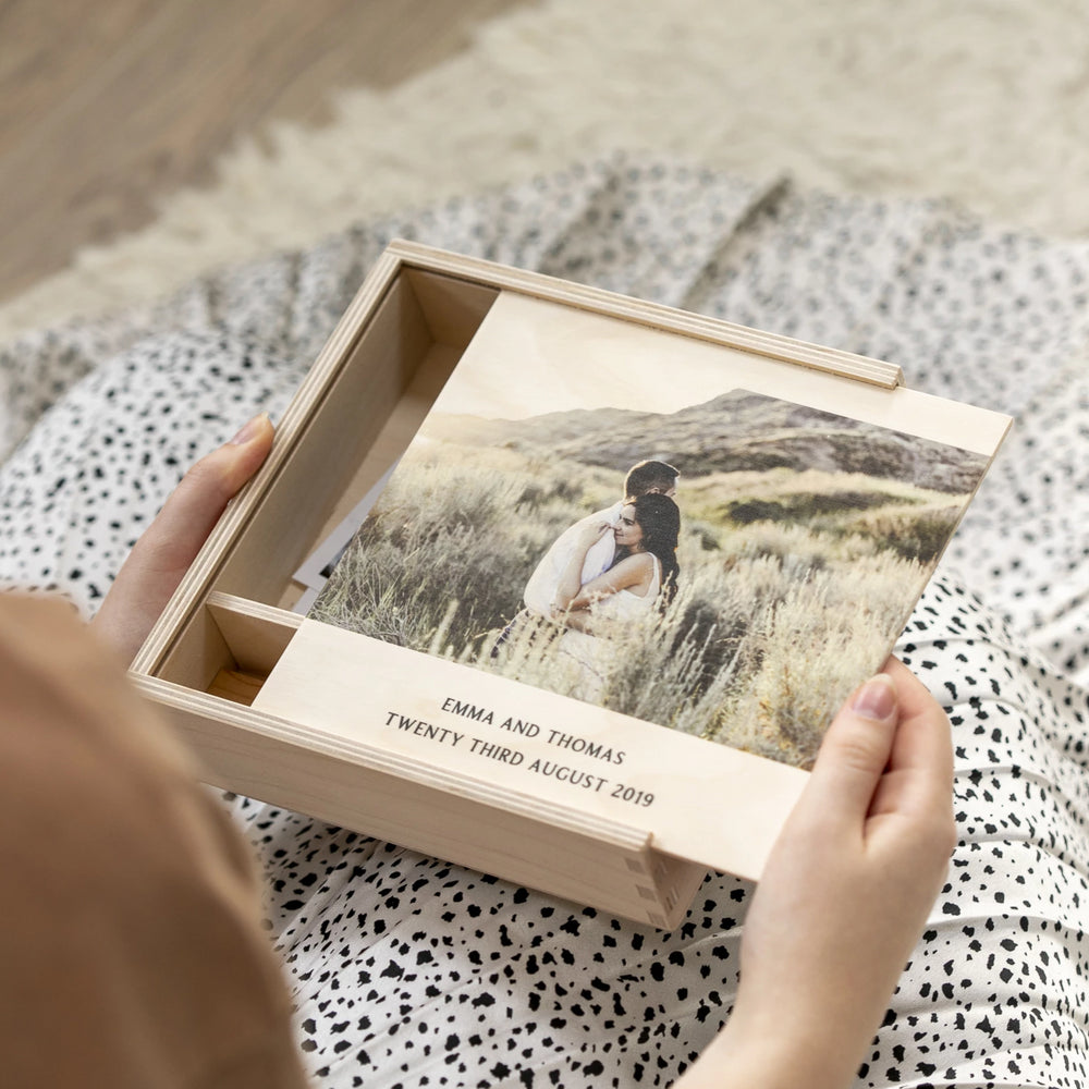 Personalised Photo Wedding Box
