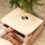 Personalised Polar Bear Christmas Eve Box