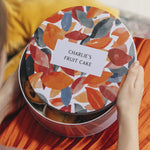 Personalised Autumn Leaves Cake TinClouds and Currents