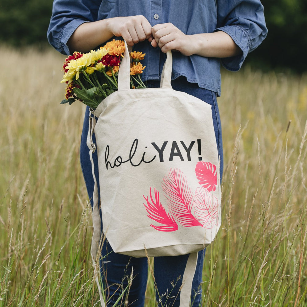 Holi'Yay' Tote BagClouds and Currents