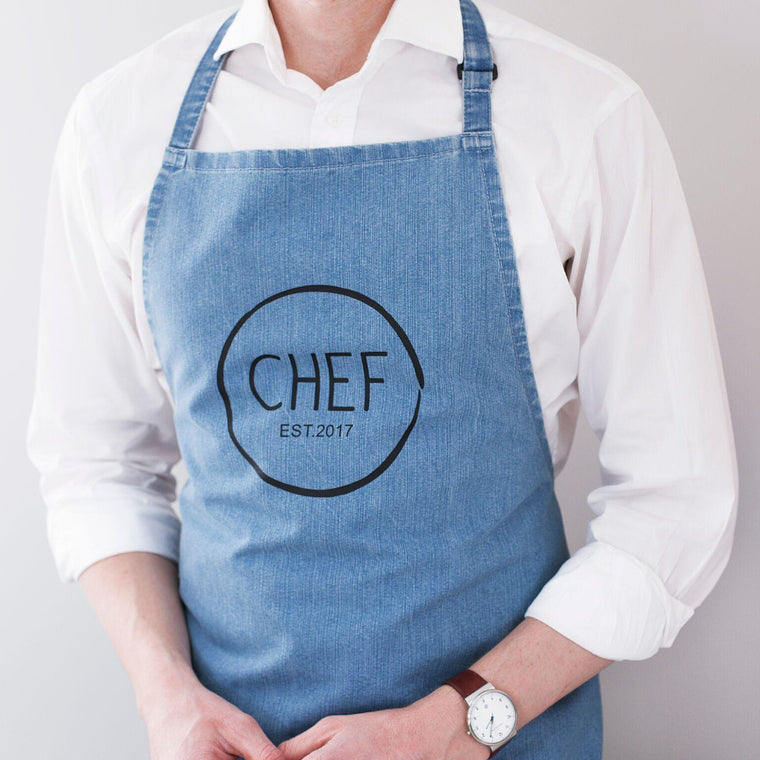 CHEF DENIM APRON