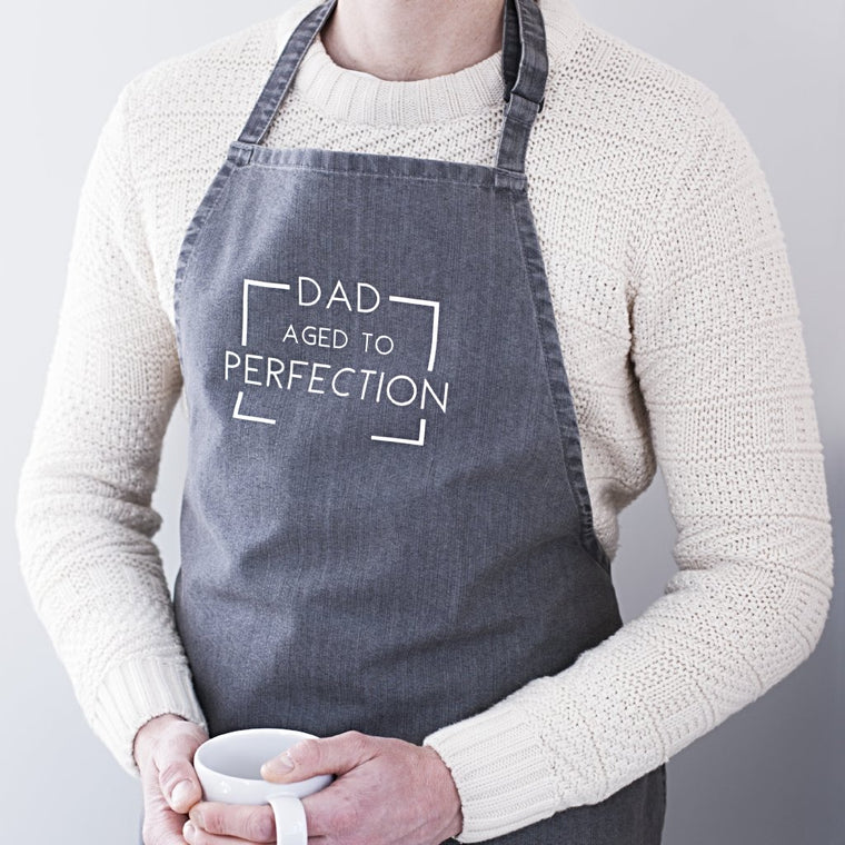AGED TO PERFECTION FATHER'S DAY APRON