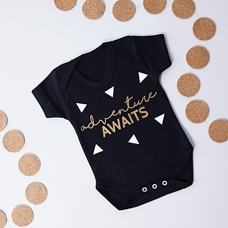 ADVENTURE AWAITS BABY GROW