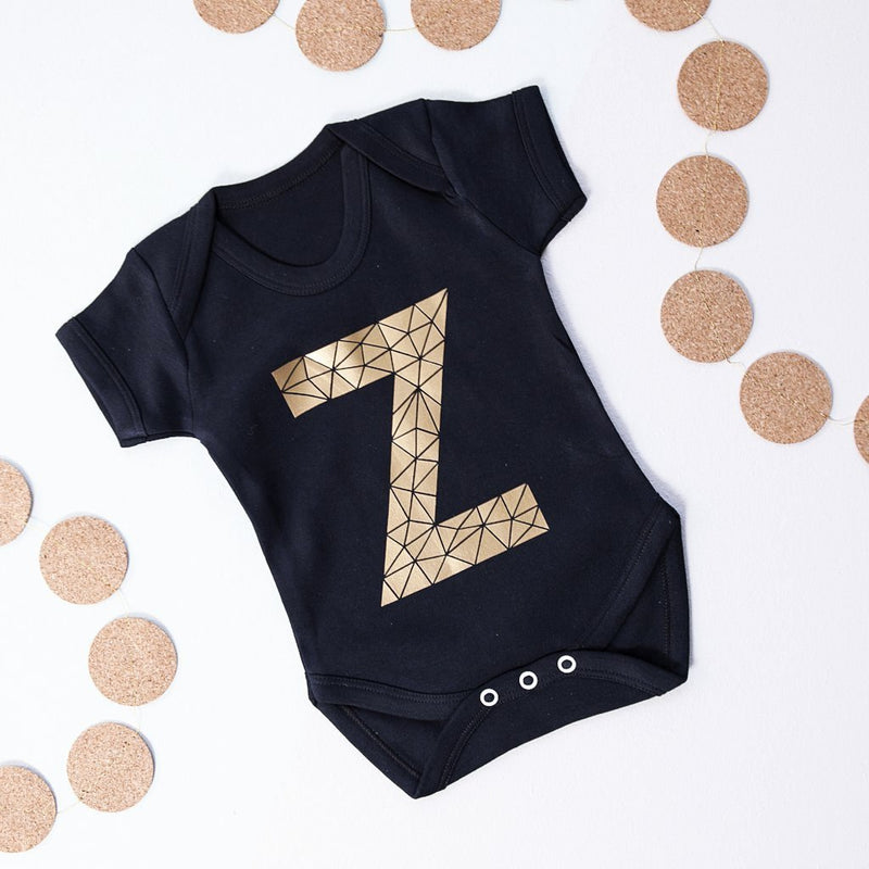 Geometric Initial Baby Grow-clouds-and-currents