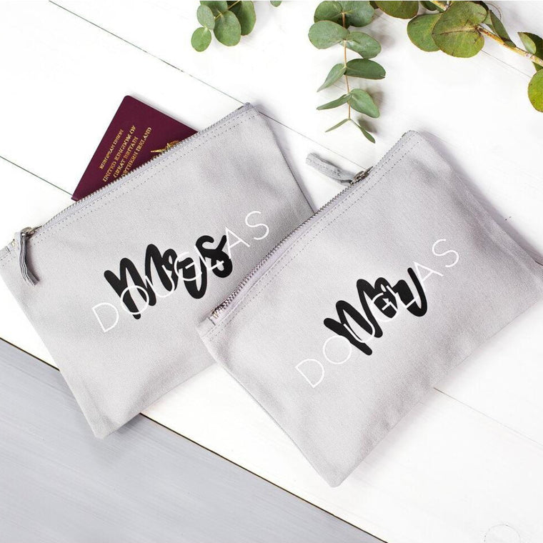 COUPLES TRAVEL BAG SET