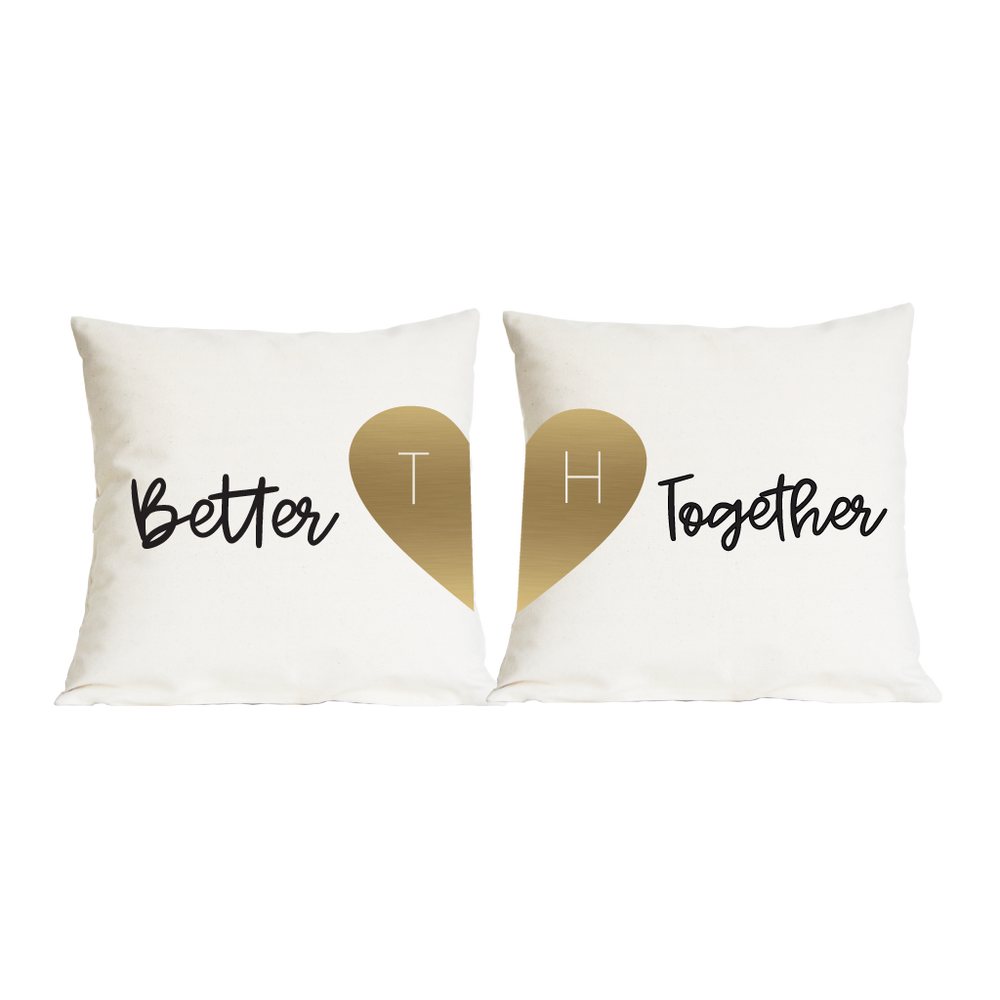 Couples Better Together Cushion SetClouds and Currents