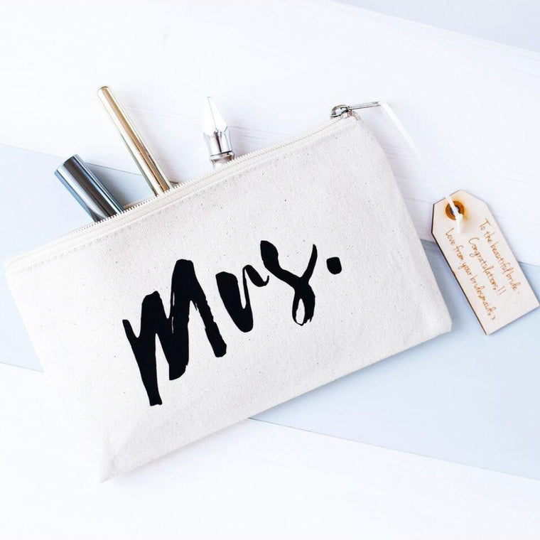 MRS MAKEUP BAG