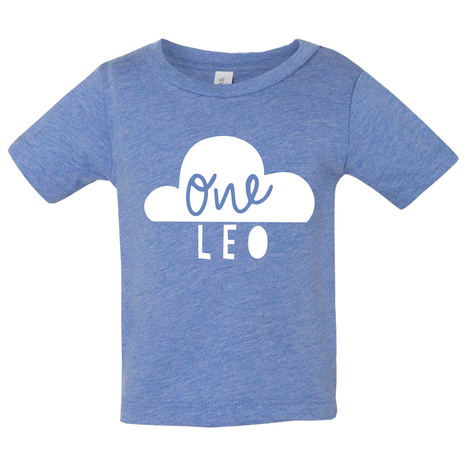 Personalised Kids Birthday T Shirt Clouds And Currents