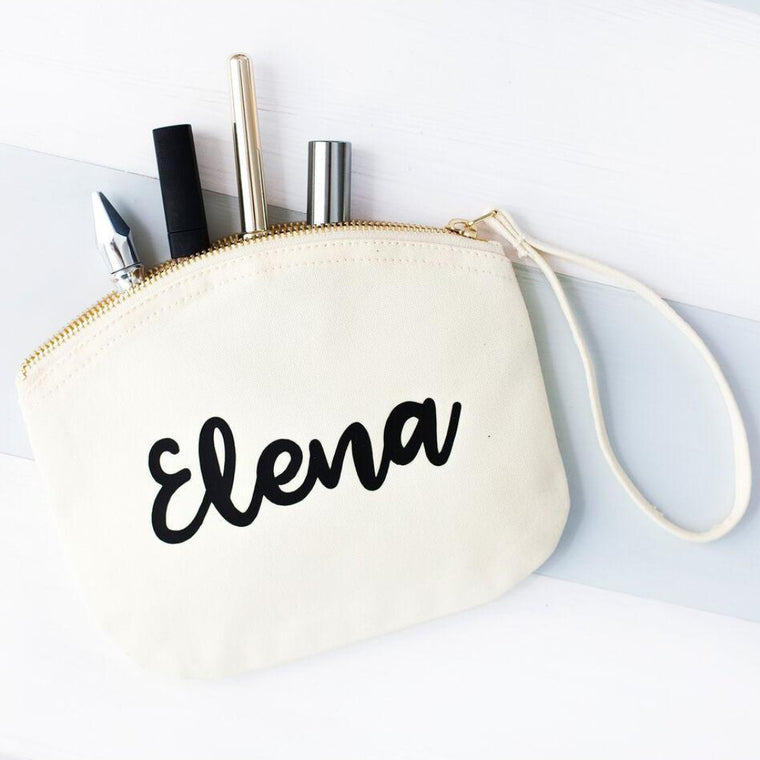 NAME PASTEL MAKEUP BAG