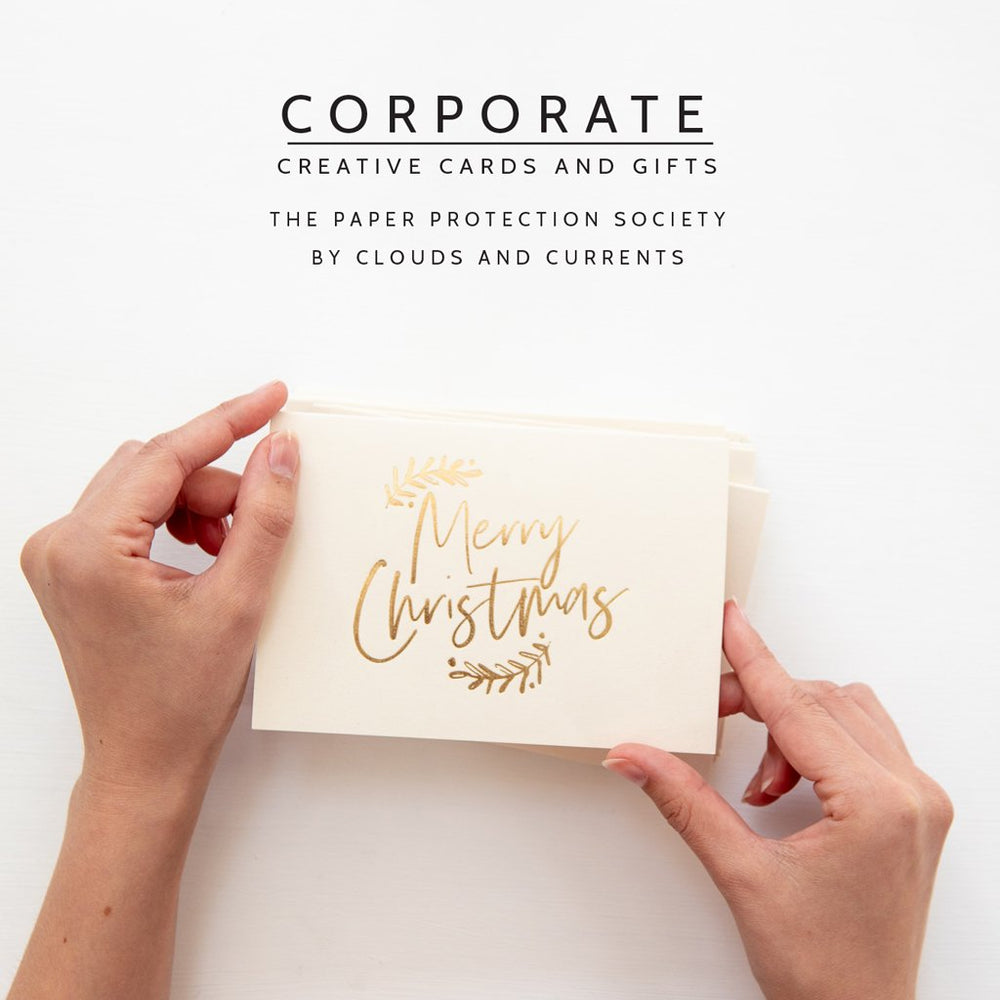 Corporate Catalogue and Sample Card PackClouds and Currents