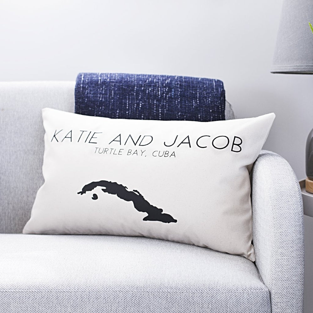 Couples Destination Cushion