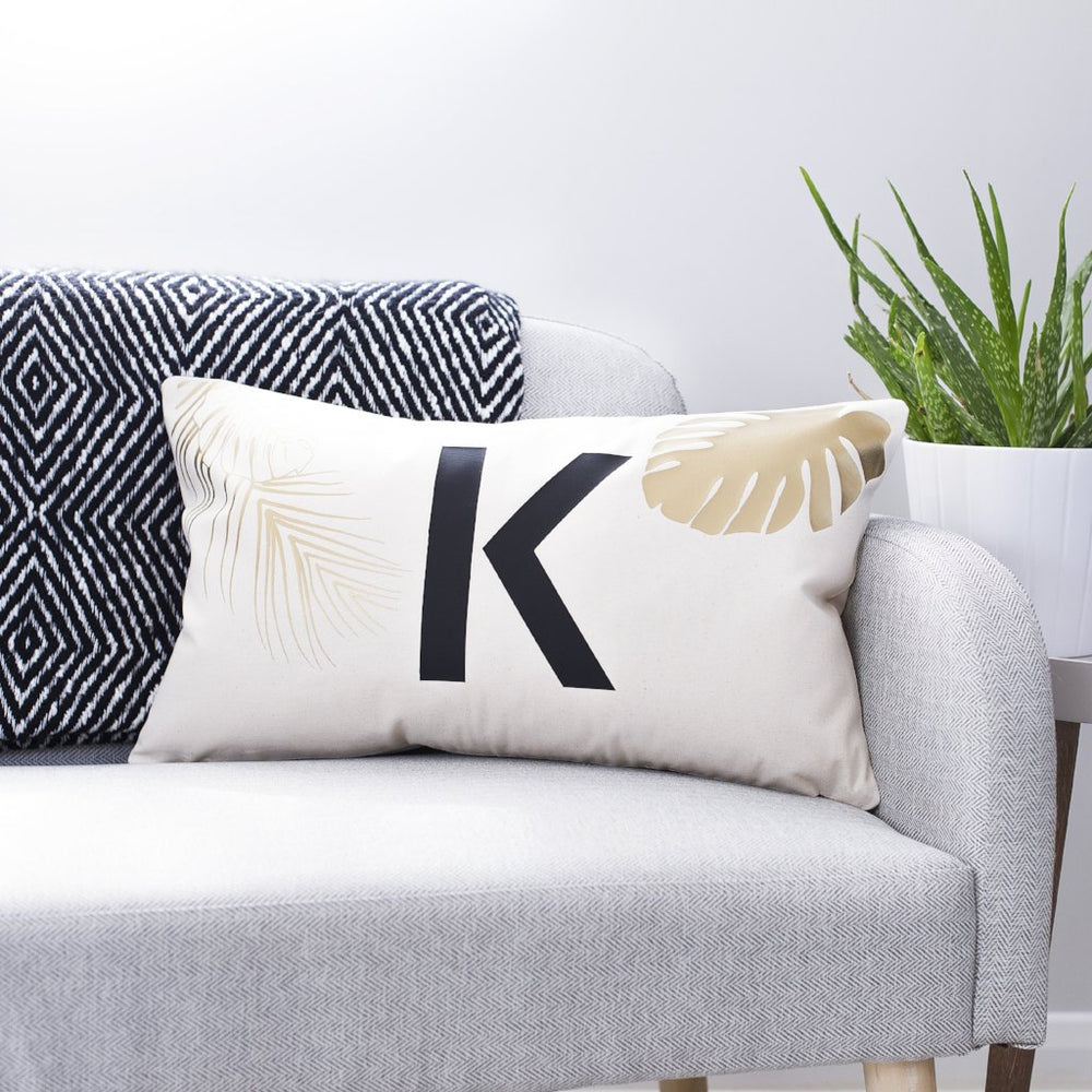 Tropical Initial Cushion