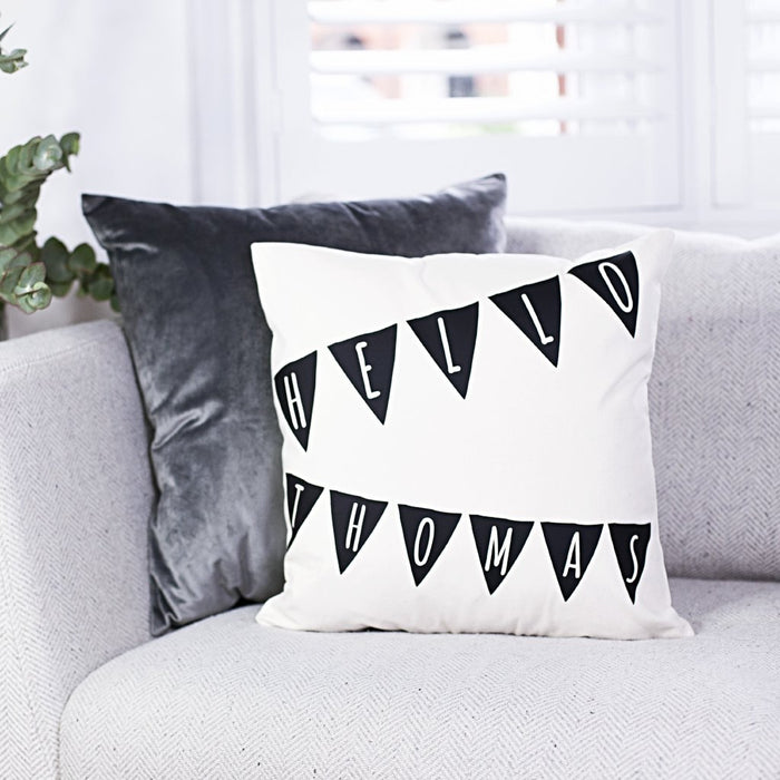 NURSERY BUNTING CUSHION-clouds-and-currents