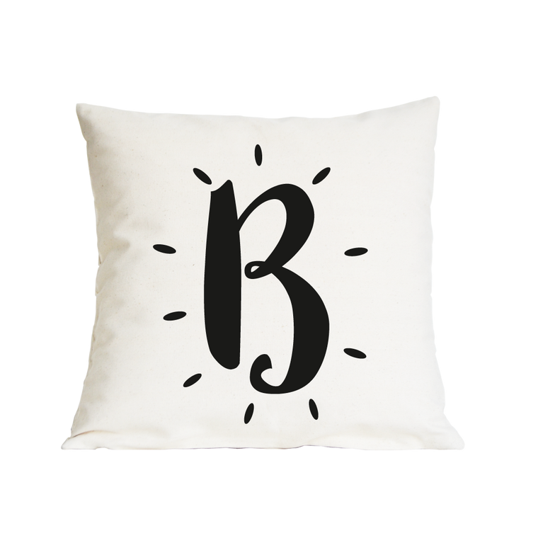 GLOWING INITIAL CUSHION