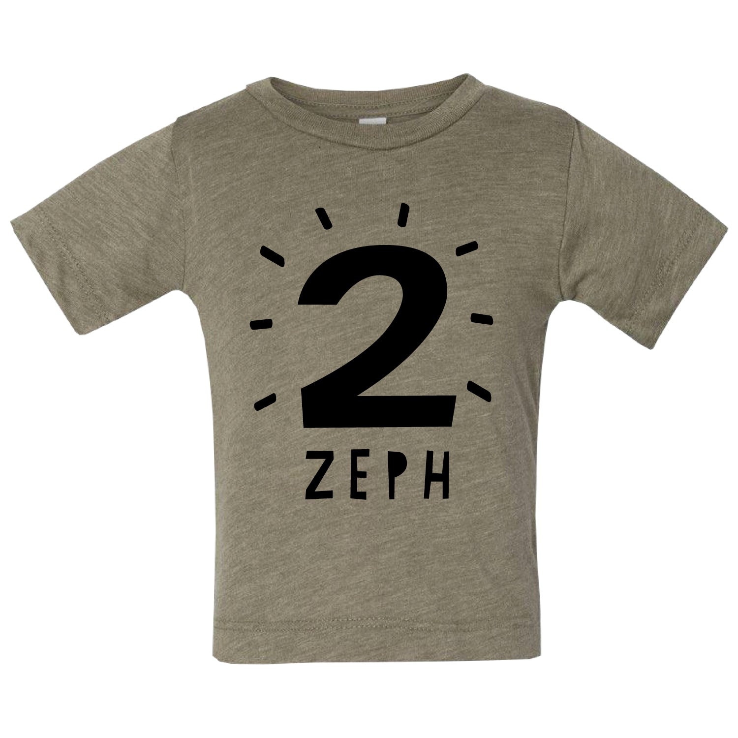 Personalised Kids Birthday Age T Shirt Clouds And Currents