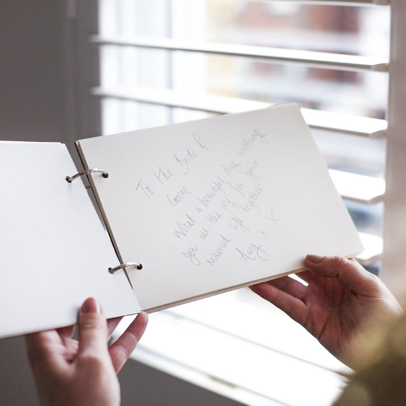 SIMPLE WOODEN WEDDING GUEST BOOK-clouds-and-currents