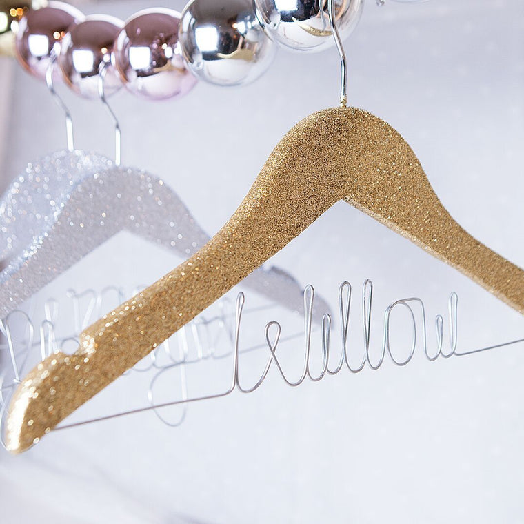 CHILDREN'S GLITTER HANGER