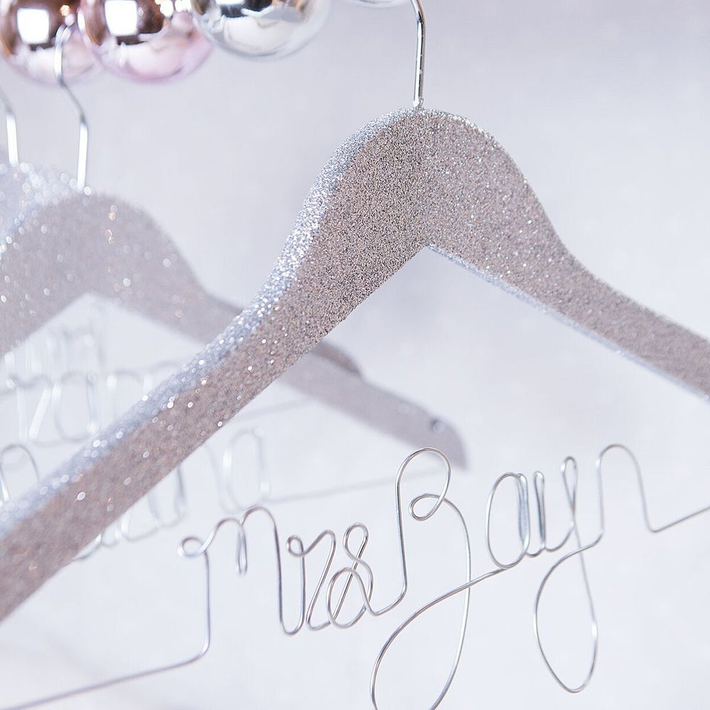 Glitter Wedding Dress Hanger