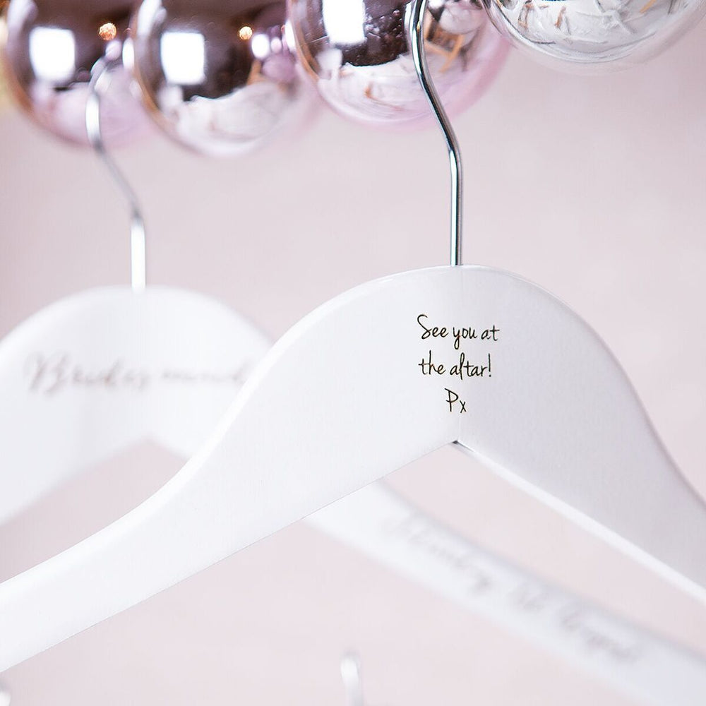 Bridesmaid Wedding HangerClouds and Currents