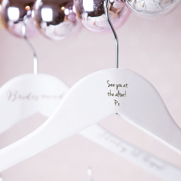 BRIDESMAID WEDDING HANGER-clouds-and-currents