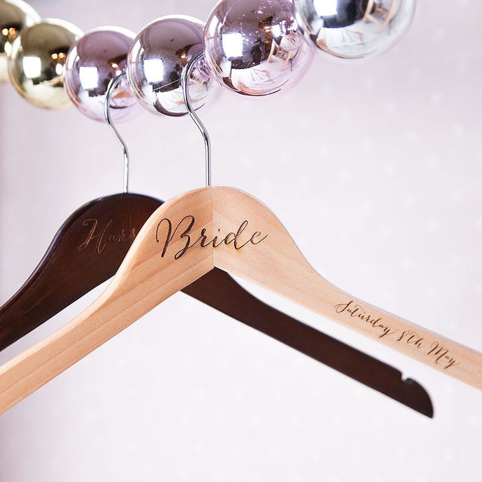 ENGRAVED WEDDING HANGER-clouds-and-currents