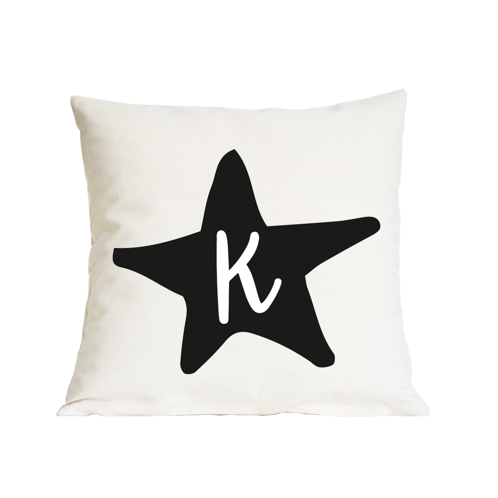 Star Initial Nursery Cushion