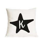 CLEARANCE 'O' Initial Star Nursery Cushion
