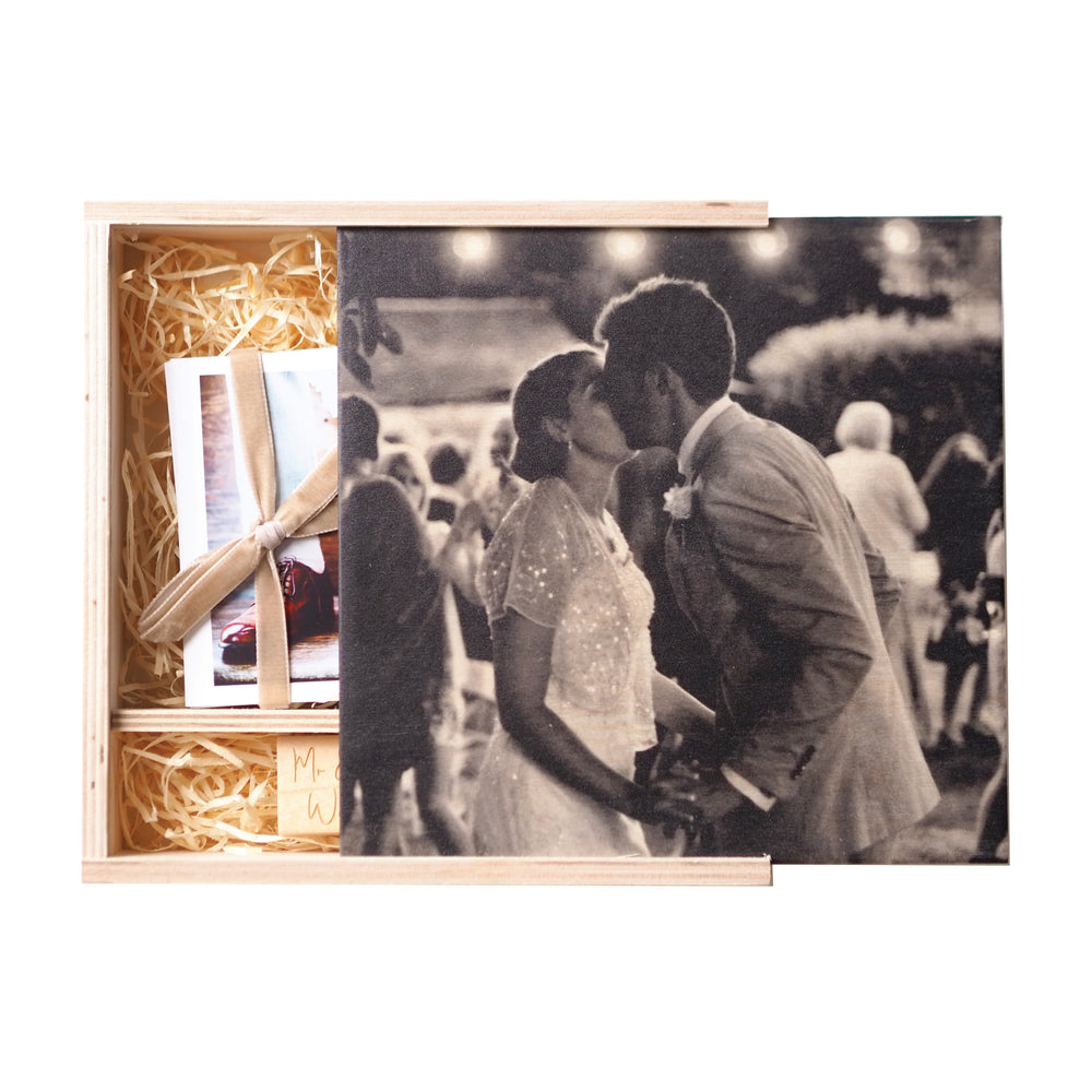 NEW Personalised Wedding Photograph Keepsake Box