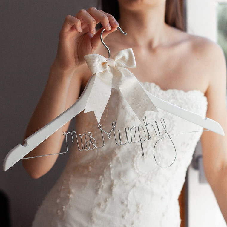WEDDING DRESS HANGER