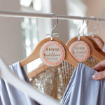Bridal Wedding Hanger CharmClouds and Currents
