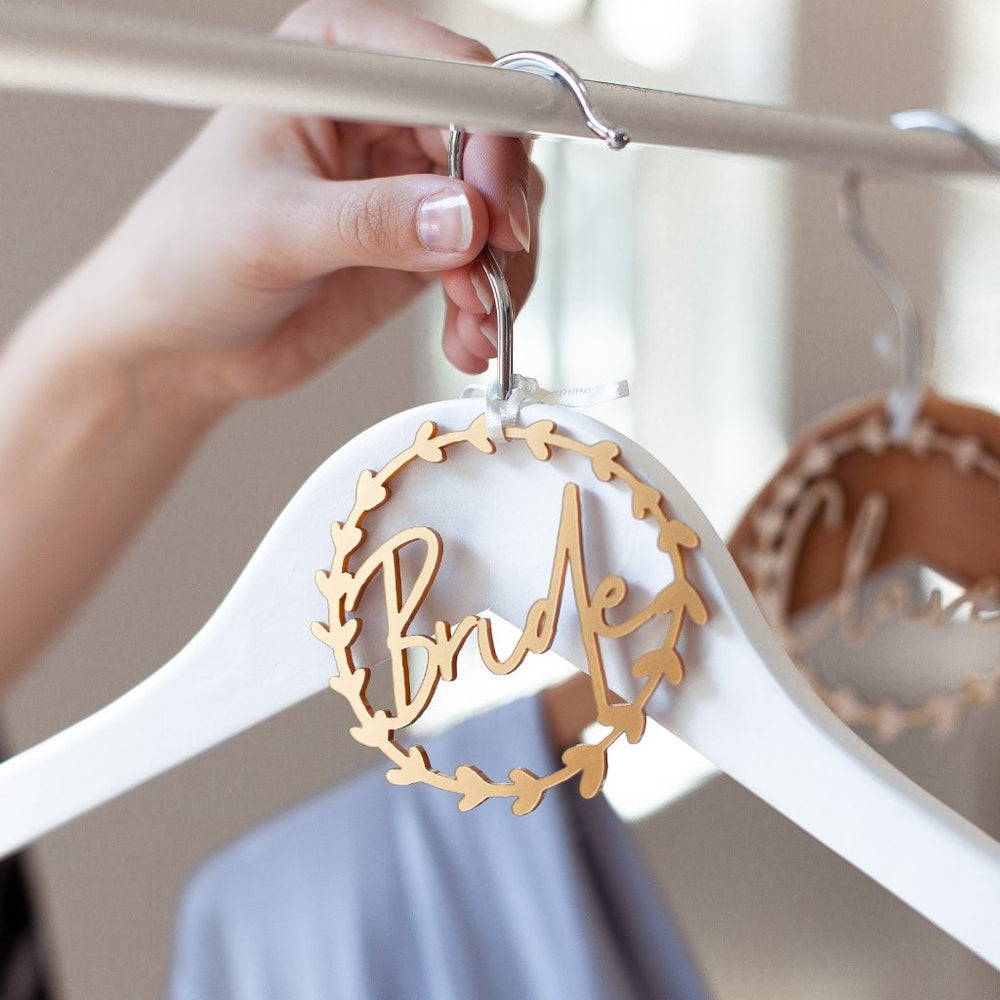 Wreath Bride Hanger CharmClouds and Currents